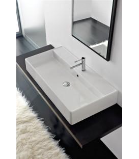 Teorema vasque/lavabo à poser et suspendu 100RA