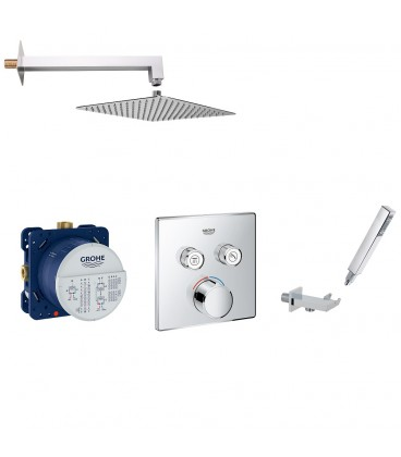 Kit douche encastree SmartControl Grohe