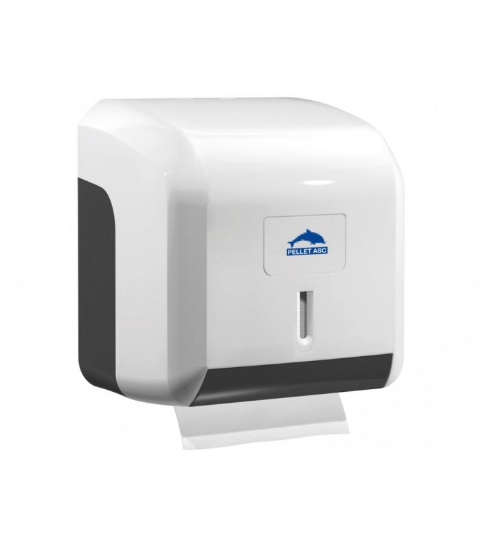 distributeur papier wc mixtes abs pellet pour sanitaires. Black Bedroom Furniture Sets. Home Design Ideas