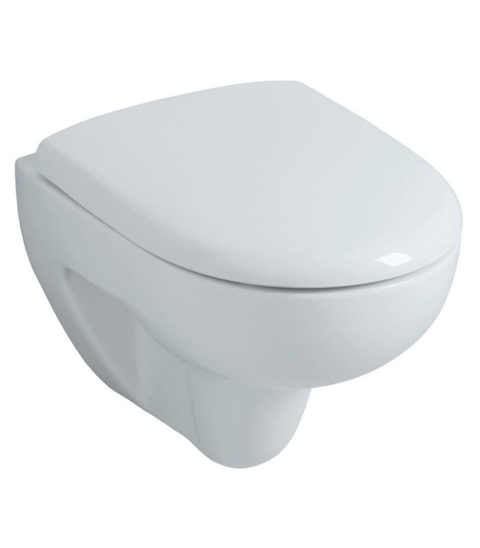 Wc suspendu court prima compact allia pour sanitaires - Wc suspendu compact ...