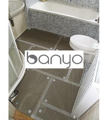 Isolant thermique et support de base pour carrelage BANYO
