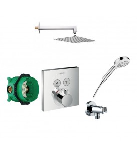 Set de douche encastrée Showerselect 2 voies Hansgrohe