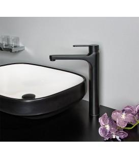 Mitigeur de vasque Enzan Nero noir mat