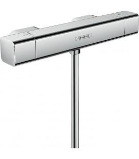 Thermostat Hansgrohe Ecostat E, mitigeur douche en saillie, chrome