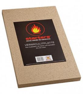 Plaque vermicilite epaisseur 30 mm 500 x 300mm