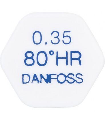 Gicleur Danfoss 0,50/80°HR