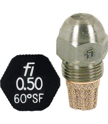 Gicleur Fluidics Fi 0,30/80°SF