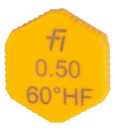 Gicleur Fluidics Fi 0,50/60°HF
