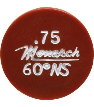 Gicleur Monarch 1,75/60°NS