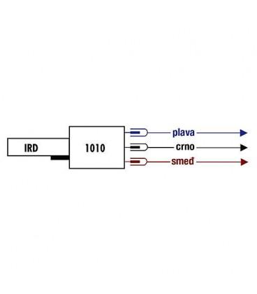 Satronic IRD1010 fioul bleu Axial