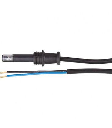 L + G Detecteur de flamme QRB 1 A avec bouchon, cable 1500 mm de long