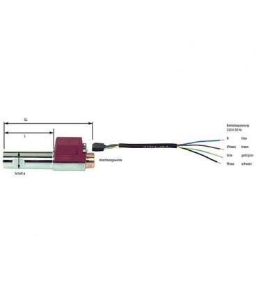 """Réchauffeur de fioul FPHB 5 030 N 5011 Danfoss - G 1/8"""" femelle remplace 030N1218"""