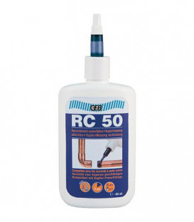 RC 50 Colle pour raccord en cuivre, contenu 60ml