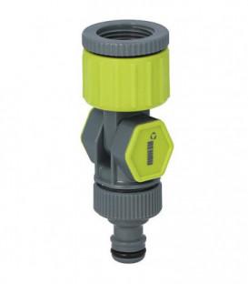 """Nez de robinet coude G 26,5mm (3/4""""), rotatif 360°"""