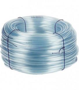 """Tuyau transparent en PVC 19 mm 1 rouleau de 50 m epaisseur 4 mm - 3/4"""""""