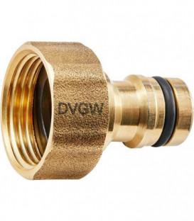 """GEKA plus connecteur de robinet """"eau potable"""" fem G1"""", MS DVGW"""