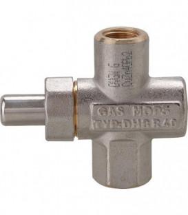"""Manometre - bouton poussoir de robinet Raccord 1/4"""""""