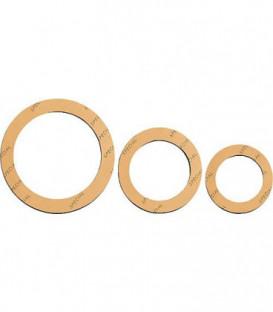 Joint de raccord special 1/2'' grand 24 x 34mm 2 mm d'epaisseur/jaune, 25 pcs