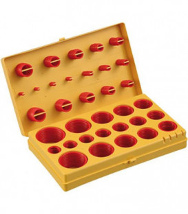 Boîte de joints toriques en silicone pour l´industrie contenu 407 pcs.
