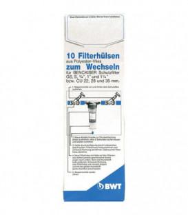 """Tissu de filtre de rechange 11/2"""" - 2"""" pour filtre protecteur/universel emballage 10 pcs"""