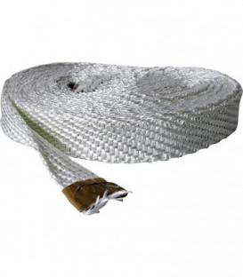 Ruban textile sans amiante 50x3 mm fibre de verre emballage 10 metres