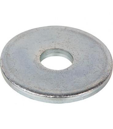 Rondelle DIN 1052 pour bois zinguée - diam. 25x92 mm epaisseur 8mm - UE 25 pcs