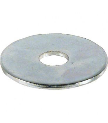Rondelle zinguée Dim 4,3 x 15 x 1,25 mm Emballage 100 pcs