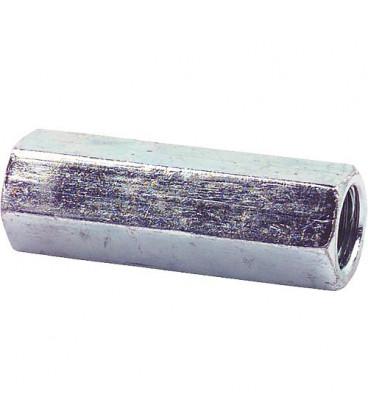 Manchon fileté 6 pans galvanisé M8 x 50 SW11 emballage 100 pièces