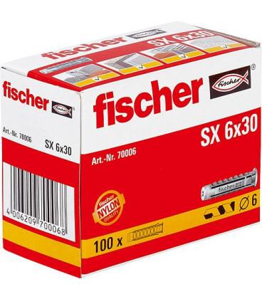 Chevilles Fischer SX Typ SX 8 x 40, UE 100 pieces