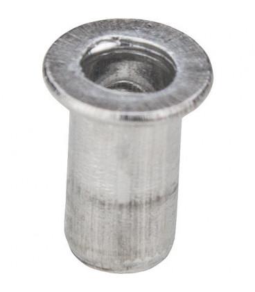 Ecrou a rivets aveugle type A9M6 A 9 x 15 mm Emballage 10 pieces