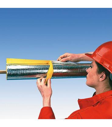 Isolation de tube Austroflex Alu diam. 48 mm Epaisseur 23 mm emballage 16 m