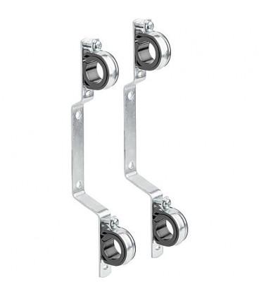 Fixation avec collier-Iso amovible pour repartiteur diam. 27mm, emballage 2 pieces