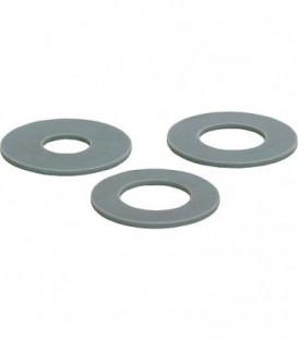 joint de flotteur gris clair Silicon,63 diam.-malex23 diam.-fem x 3mm UE 5 pcs, convient pour Geberit