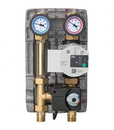 """Set circuit de chauffage Easyflow DN20(3/4""""), melangeur 3-voies servomoteur,Wilo Para 15/6 SC"""