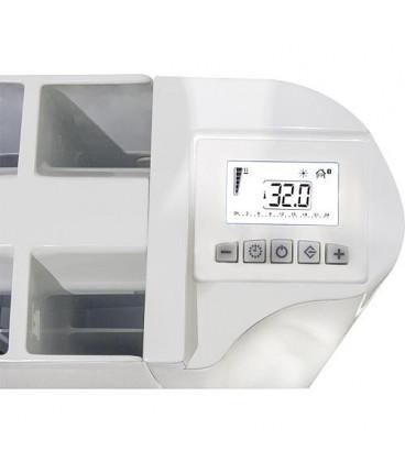 Radiateur electrique Aluminium eBlitz GD 5815, 1500 Watt RAL 9010