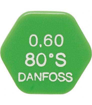 DASLE 004 06 gicleur Danfoss 0.40/60°S
