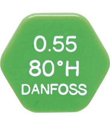 DAHLE 006 58 gicleur Danfoss 0.65/80°H