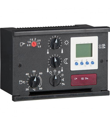 Regulation du chauffage Delta+2B avec 3 sondes