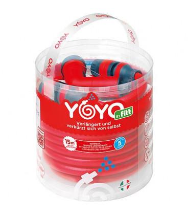 kit de flexible yoyo avec douchette 15m