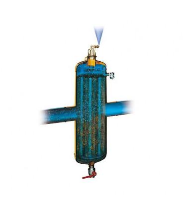 """Spirocombi Desemboueur et Disconnecteur avec aimant MB3 DN20 (3/4"""")fem., 110°C, 10 bar"""