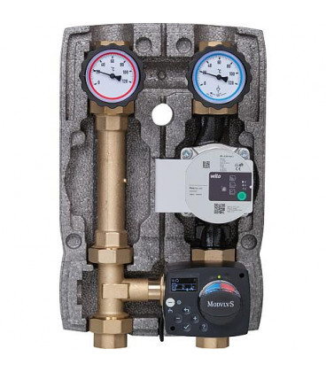 """Kit circuit de chauffage Easyflow DN25(1""""), kit de charge 20-80°C, Wilo Para 25/6"""