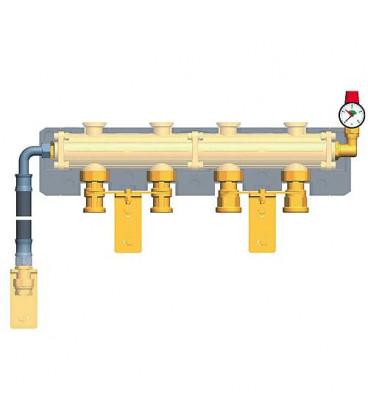 Kit de sEcuritE pour le montage au distributeur 3 bars jusqu'à 50kW, manomètre 0-4 bars