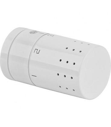 Tête de thermostat design M 30 x 1,5 avec dEtecteur de liquide intEgrE, blanc