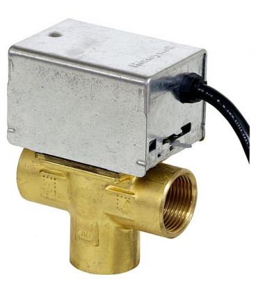 "Honeywell soupape de zone 3 voies V 4044 F 1034 B, avec reglage manuel 1"",230 V, 50 Hz, 6 W *BG*"