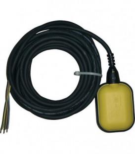 Interrupteur a flotteur 5 m Opti2 jaune pour montage ulterieur Fonction remplir