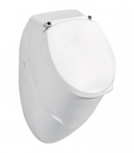 Kit complet urinoir en ceramique EDU lxHxP, 310x525x320 mm, avec fixation