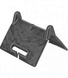 Protege-arete, PE, noir pour ceinture jusqu'a 50 cm
