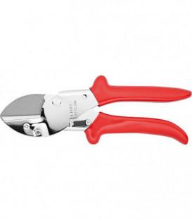 Secateur à enclume KNIPEX chromé, Longueur 200 mm