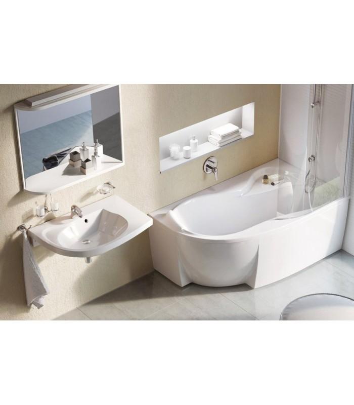 baignoire gain de place rosa 95 ravak pour sanitaires. Black Bedroom Furniture Sets. Home Design Ideas