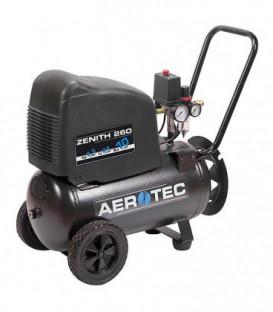 Compresseur a piston AEROTEC sans huile, Zenith 260 PRO 230 Volt avec 10 bar +25l chaudiere